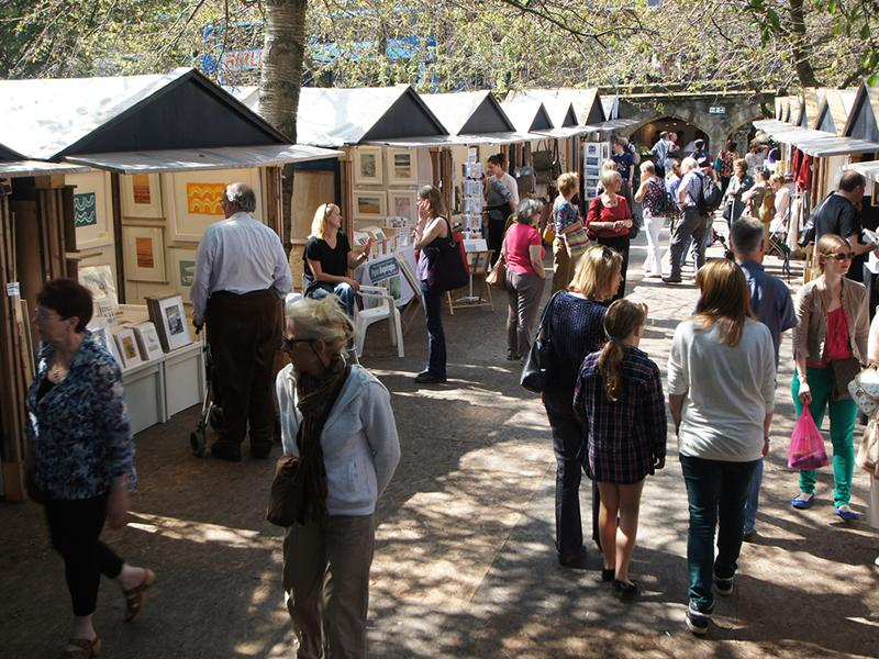 Edinburgh Festival West End Fair