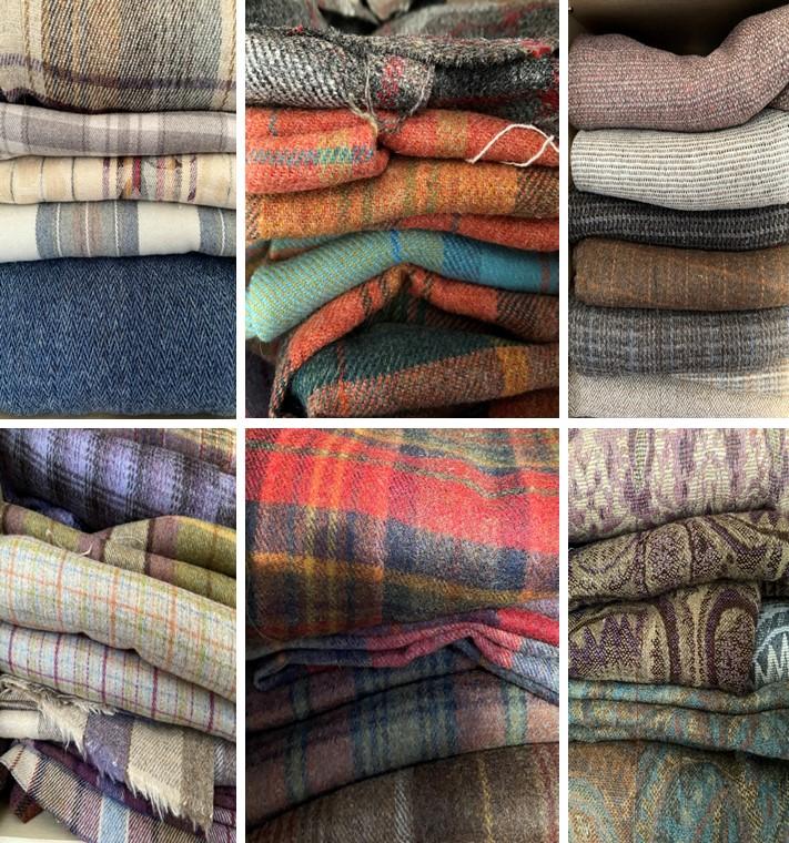 Fabric selection Baigali Designs
